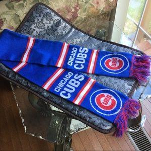 Other - Chicago Cubs Fringe Baseball Scarf